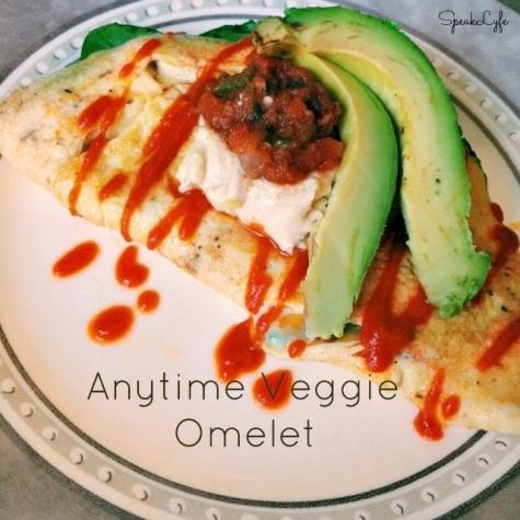 Veggie Omelet | SpeakLyfe