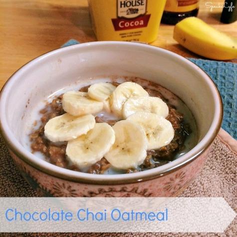Chocolate Chai Oatmeal | SpeakLyfe