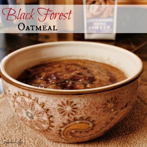 Black Forest Oatmeal | SpeakLyfe