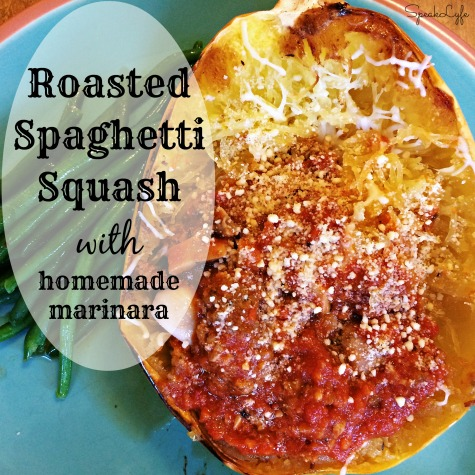 Spaghetti Squash with Homemade Marinara | SpeakLyfe