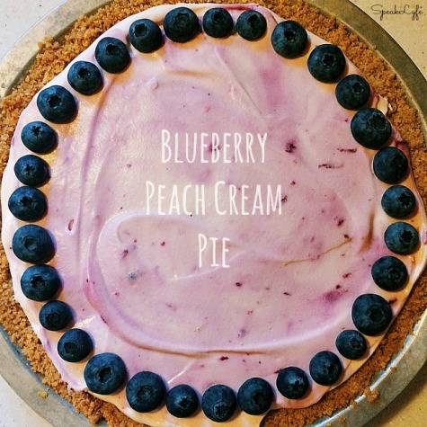 Blueberry Peach Cream Pie | SpeakLyfe